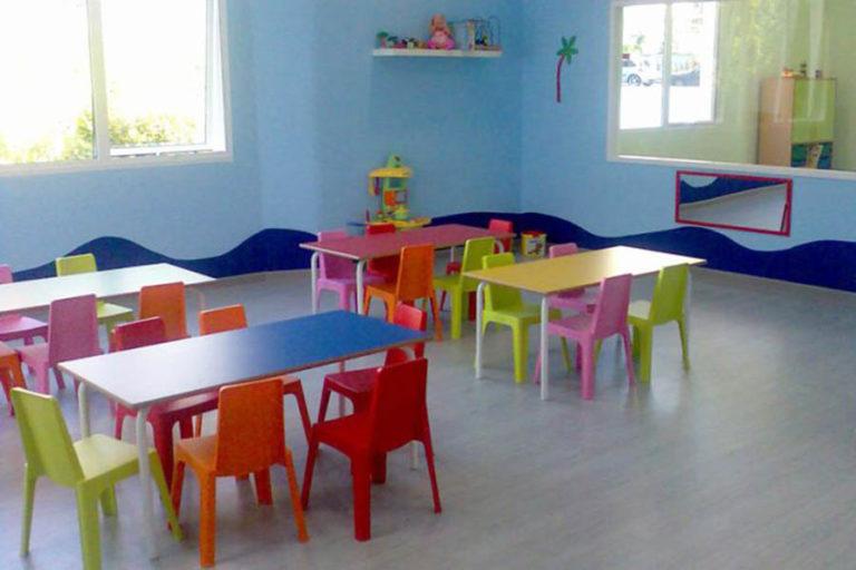 Escuela infantil Xílgaros, en Carballo