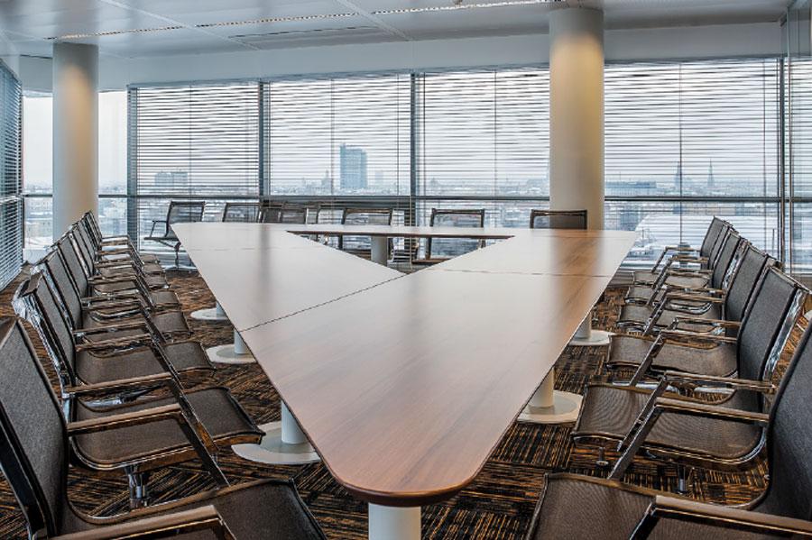 Mobiliario de oficina para reuniones