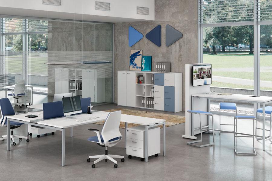 Mobiliario de oficina operativo