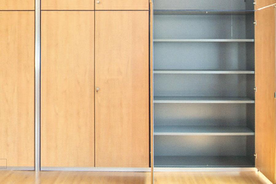 Tabique divisorio armario